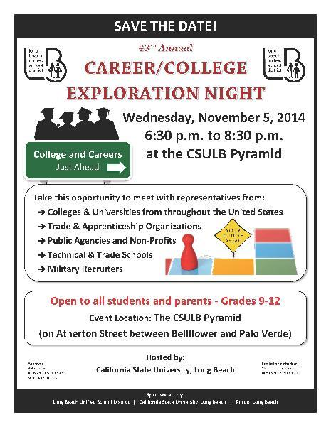 CSULB Pyramid November 5th